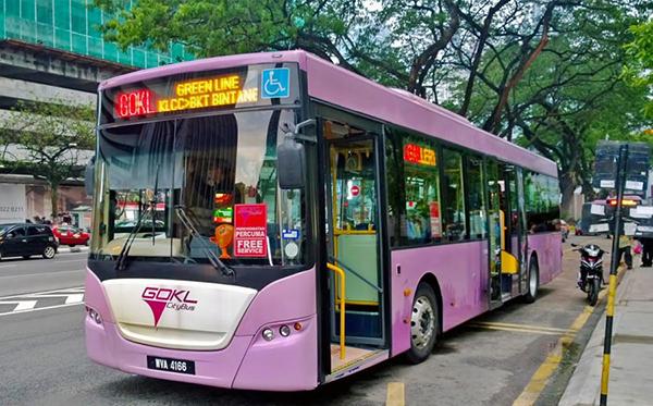 حمل و نقل عمومی در کشور مالزی