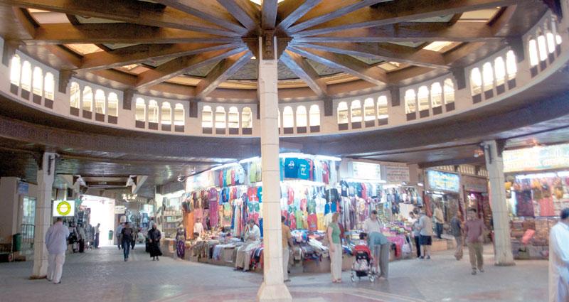 بازار مطرح مسقط عمان