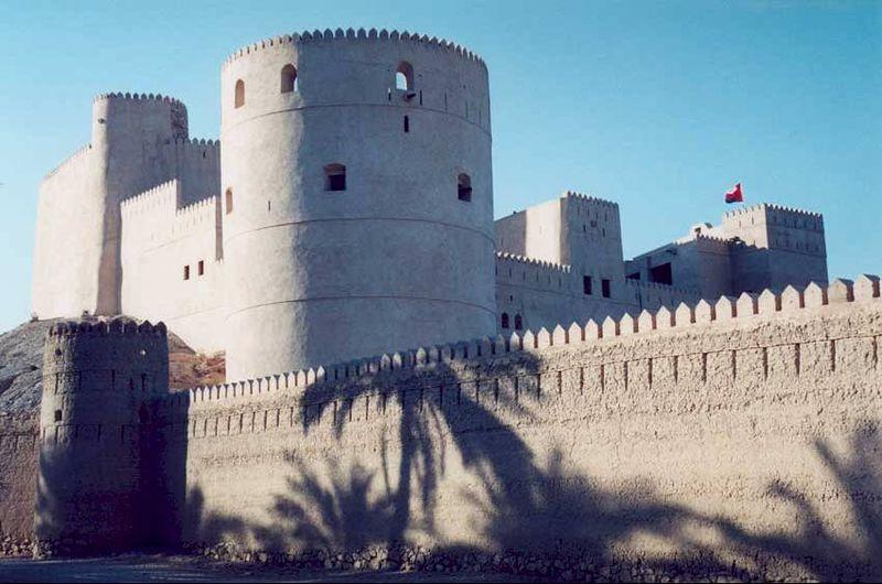 قلعه جلالی - مکان های دیدنی کشورعمان