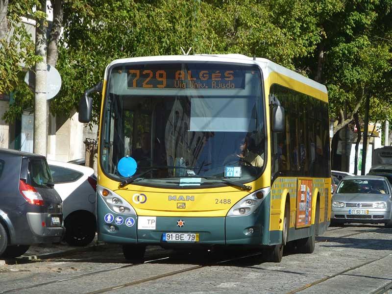 اتوبوسهای لیسبون - حمل و نقل عمومی در پرتغال