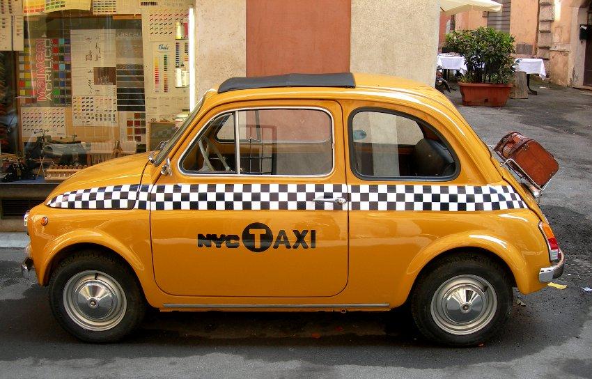 تاکسی در اتالیا - حمل و نقل عمومی در ایتالیا
