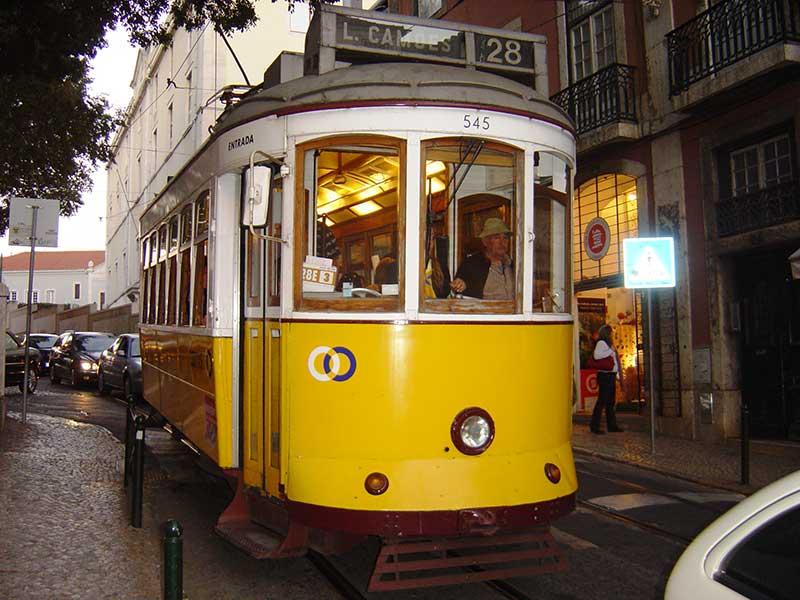 تراموا پرتغال - حمل و نقل عمومی در پرتغال