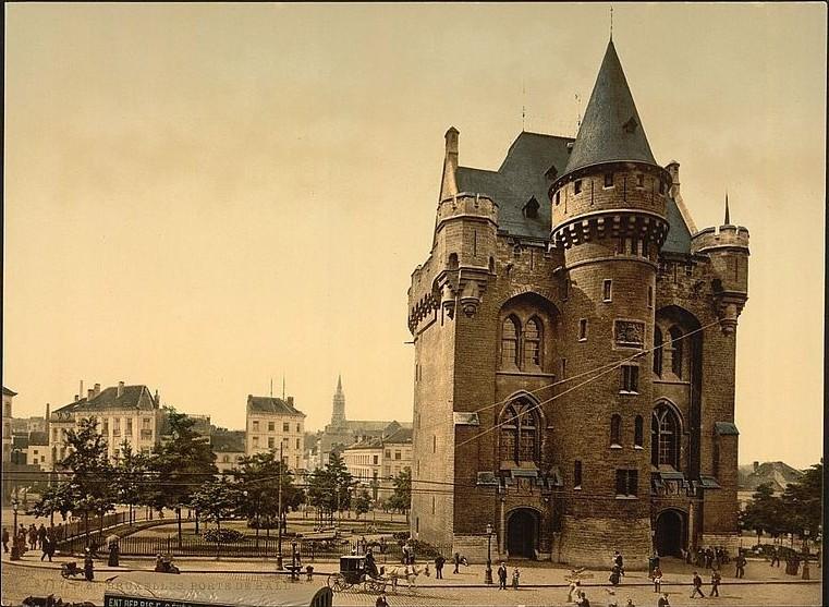 دروازه هال گیت بروکسل - اماکن تاریخی بلژیک