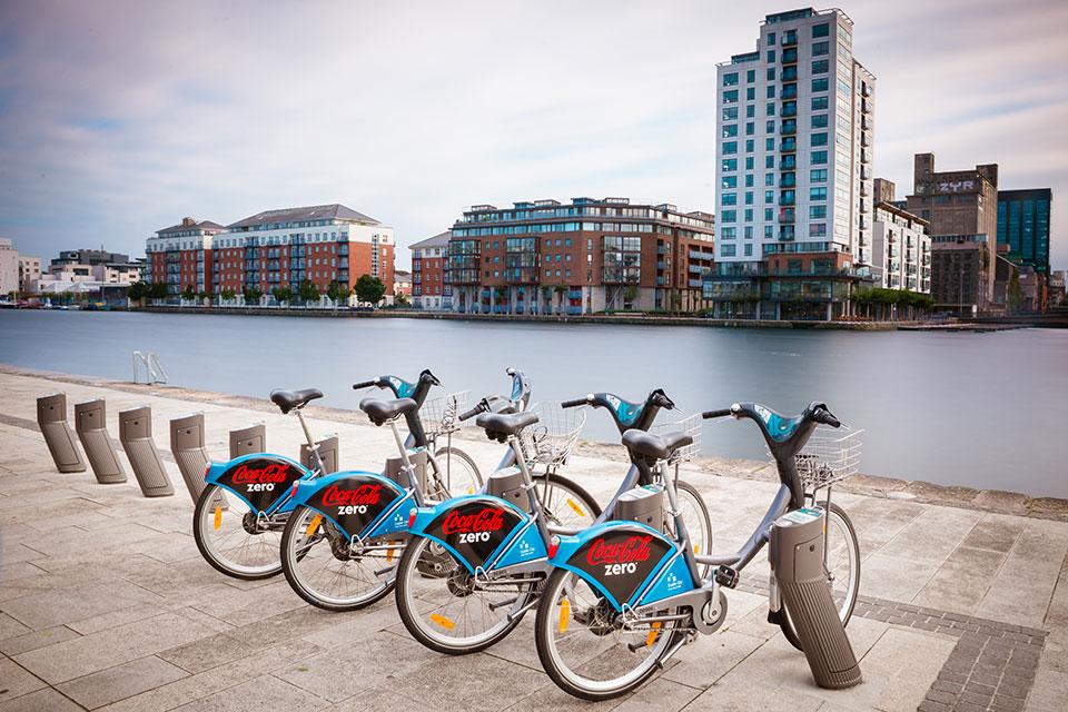دوچرخه در دوبلین - حمل و نقل عمومی در ایرلند