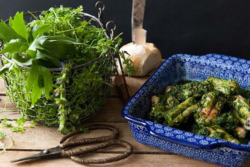 مارماهی با سس سبز - غذا در بلژیک