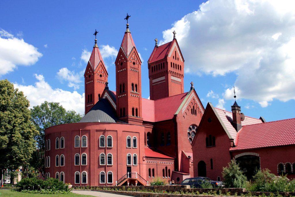 کلیسای سنت سیمون و هلنا - اماکن تاریخی بلاروس