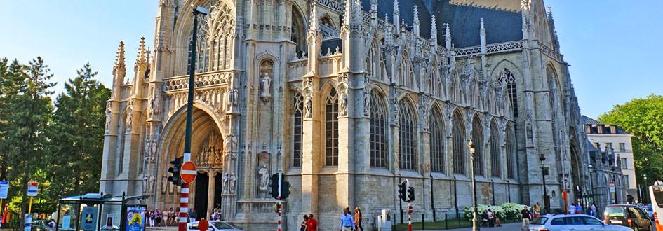 کلیسای نتردام اگلیسه سابلون - اماکن تاریخی بلژیک