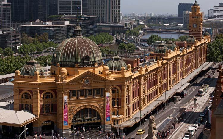ایستگاه خیابان فلایندرز - اماکن تاریخی استرالیا