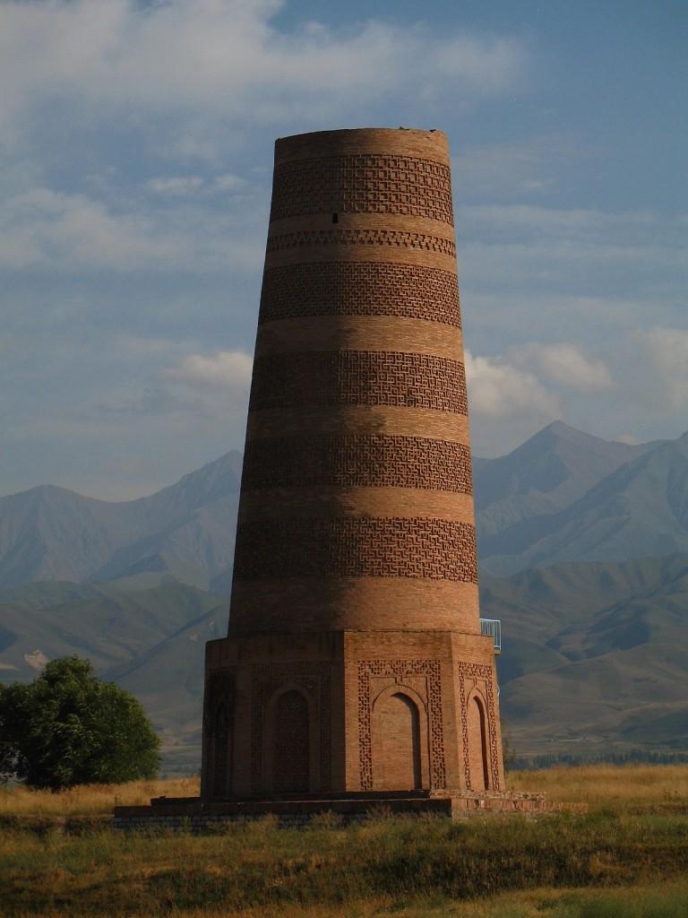 برج بارانا - اماکن تاریخی قرقیزستان