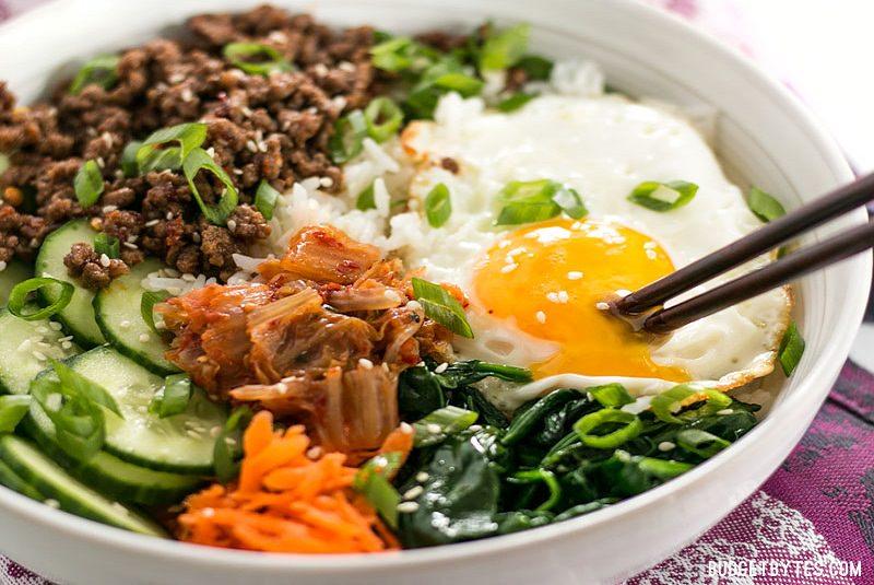 بیبیم  - غذا در کره جنوبی