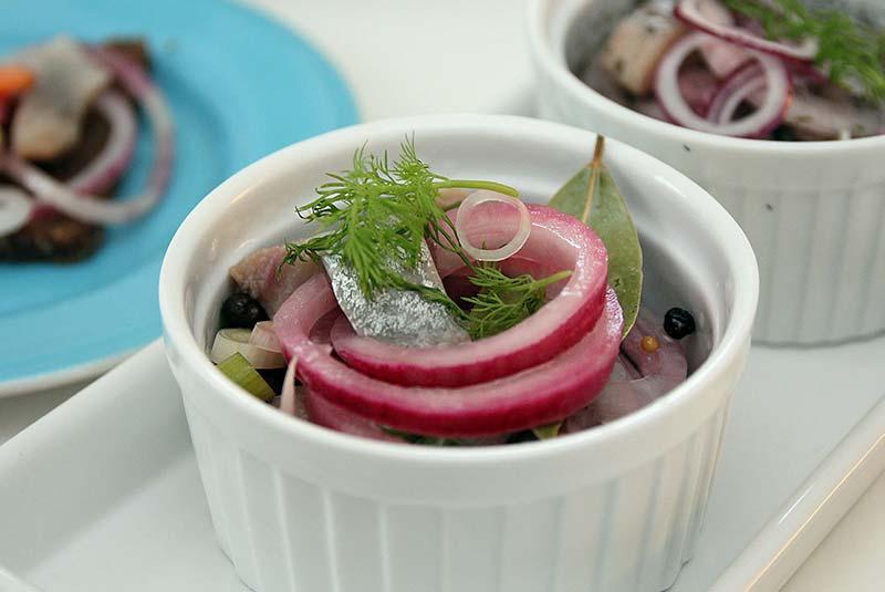 ترشی شاه  ماهی - غذا در نروژ