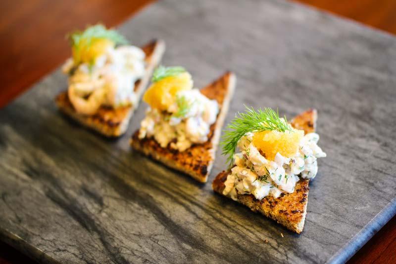 تست اِسکاگن - غذا در سوئد