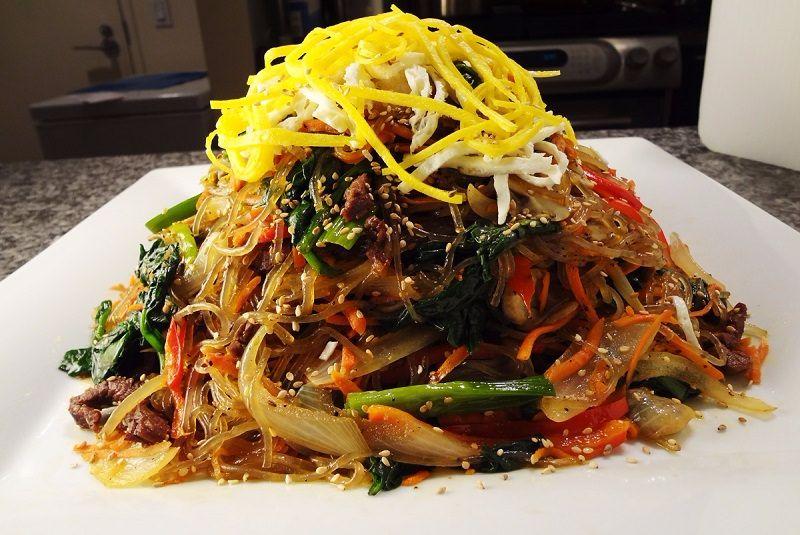 جاپچائه - غذا در کره جنوبی