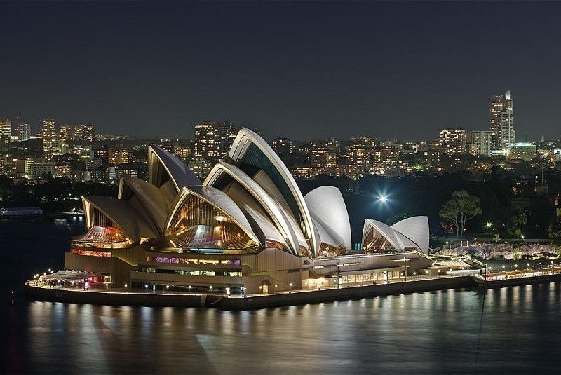 خانه اُپرای سیدنی - اماکن تاریخی استرالیا