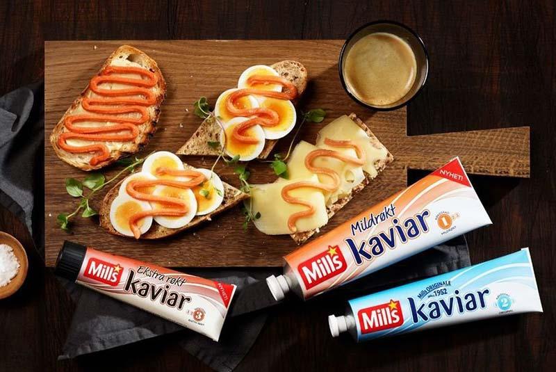 خاویار تیوبی - غذا در نروژ