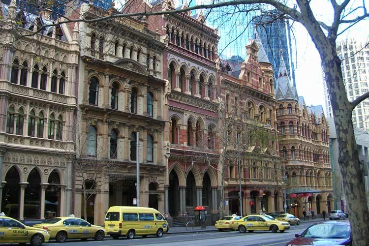 خیابان کالینز - اماکن تاریخی استرالیا