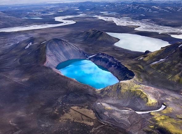 دریاچه های ایسلند - ایسلند کشور آبشارها