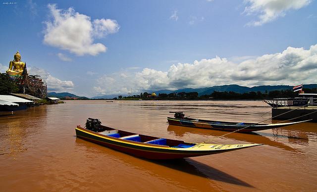 رودخانه مکونگ - جاذبه های گردشگری لائوس