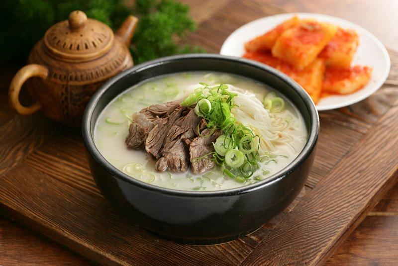 سئولئونگ تانگ  - غذا در کره جنوبی