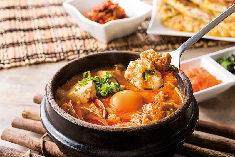 سوندوبو جیگائه - غذا در کره جنوبی