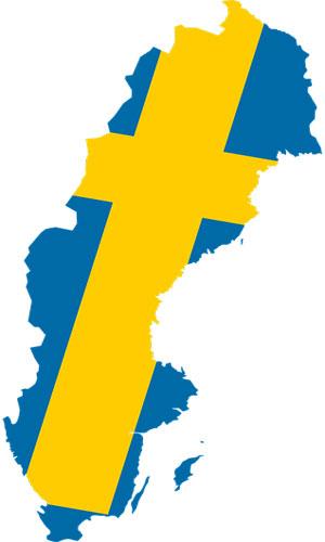 شهرهای سوئد - شهرهای سوئد
