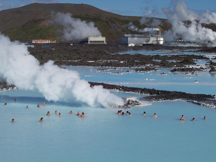 مرداب آبی - اماکن دیدنی ایسلند