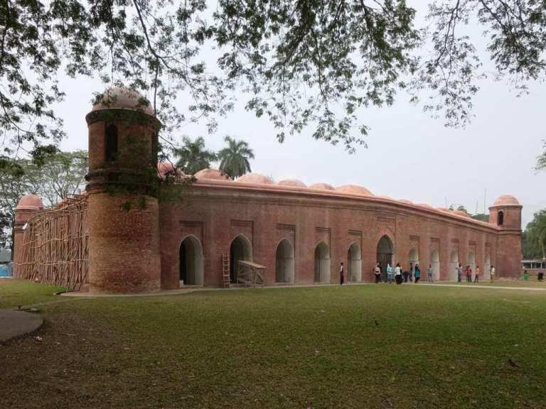 مسجد شصت گنبد، داکا - اماکن گردشگری بنگلادش
