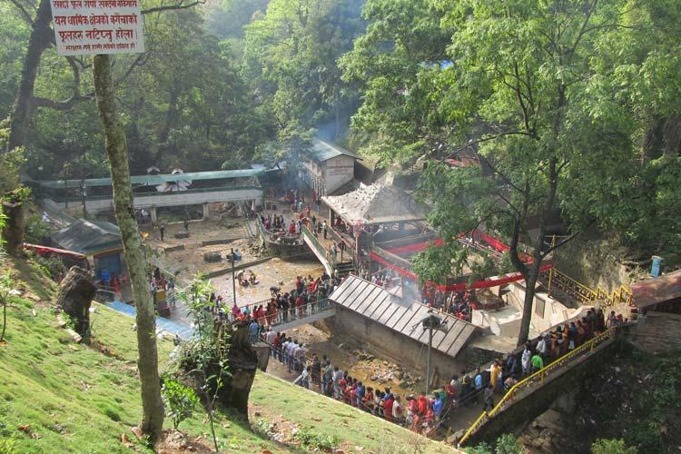 معبد داک شین کالی - اماکن تفریحی کشور نپال