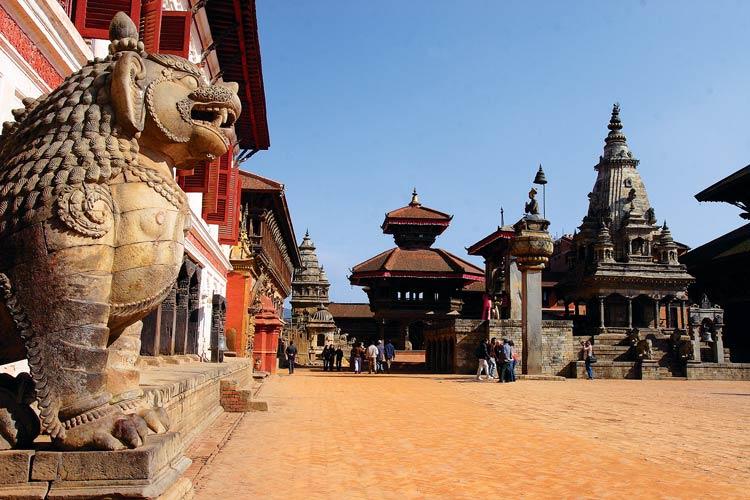 میدان داربار کاتماندو - اماکن تفریحی کشور نپال