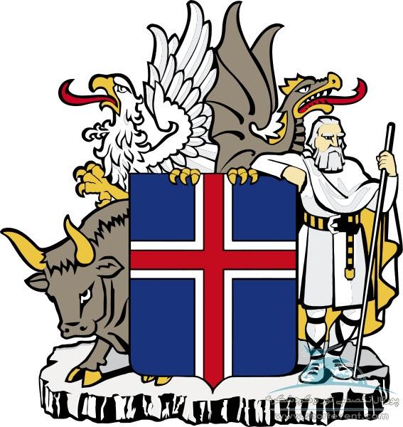 نشان ایسلند - اطلاعات عمومی ایسلند