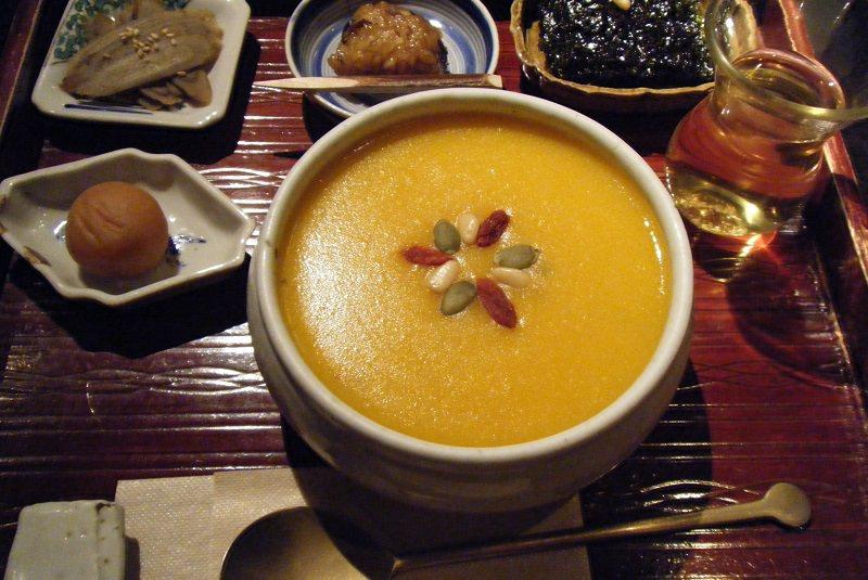 هوباکجوک فرنی کدو حلوایی - غذا در کره جنوبی