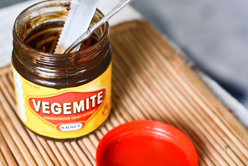 وجیمایت - غذا در استرالیا
