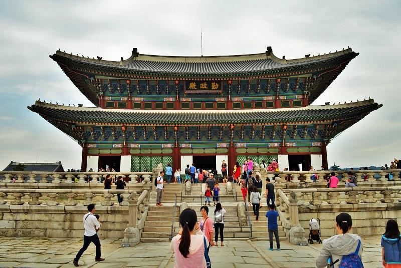 کاخ گیونگ بوک گانگ 1 - اماکن تاریخی کشور کره جنوبی