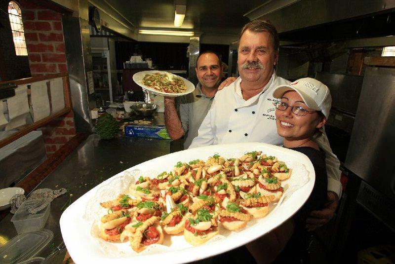 کرم حشره - غذا در استرالیا