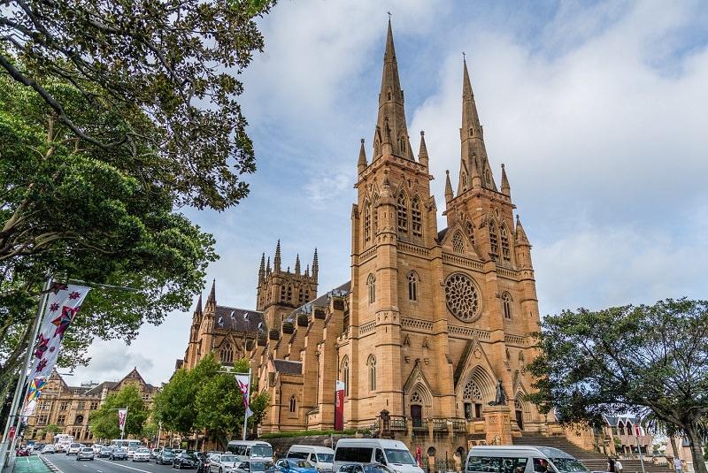 کلیسای سنت ماری - اماکن تاریخی استرالیا