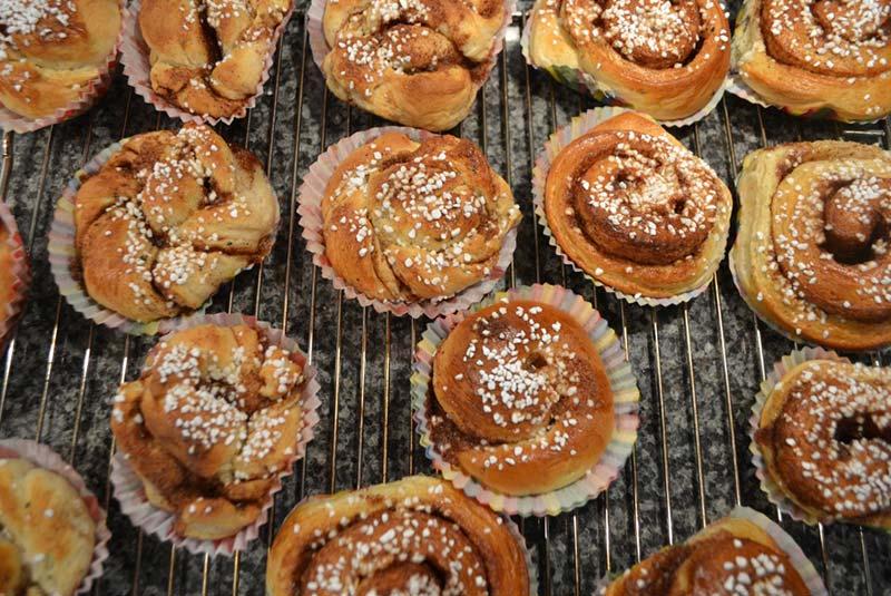 کنل بوله - غذا در سوئد