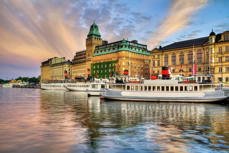 گردش با قایق سوئد - مراکز تفریحی سوئد
