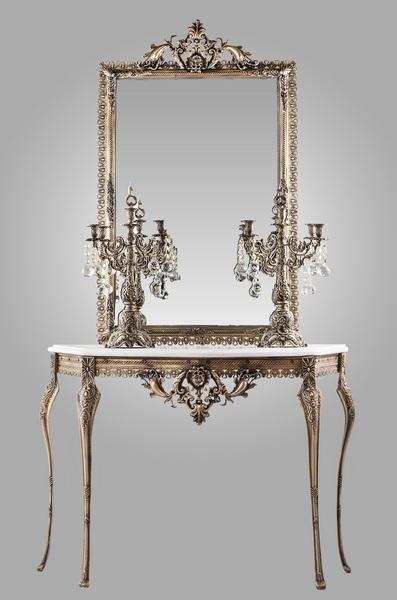 خرید آینه و شمعدان