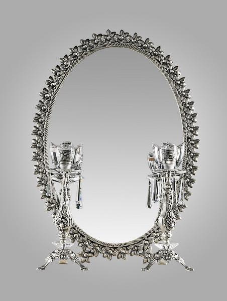 راهنمای آینه و شمعدان