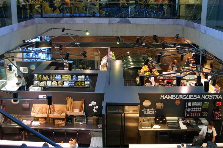 بازار سن آنتون مادرید - شهرهای اسپانیا