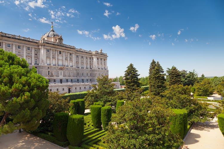 باغ سباتینی مادرید - شهرهای اسپانیا