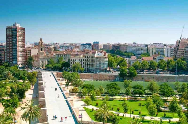 باغ های توریا - شهرهای اسپانیا