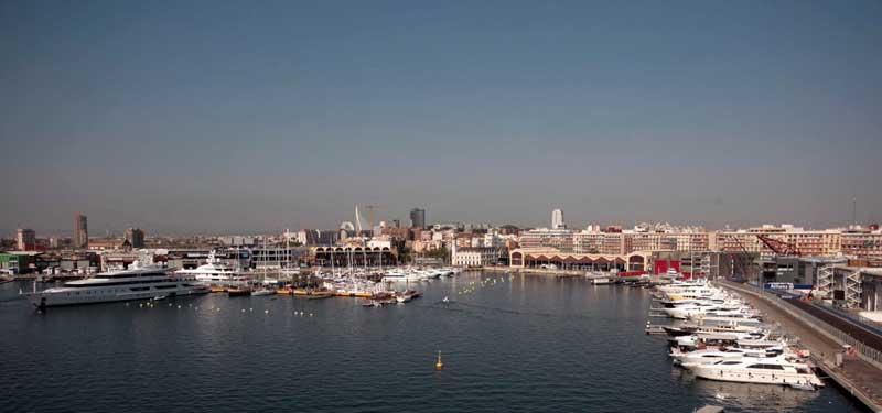 تفرجگاه ساحلی والنسیا - شهرهای اسپانیا