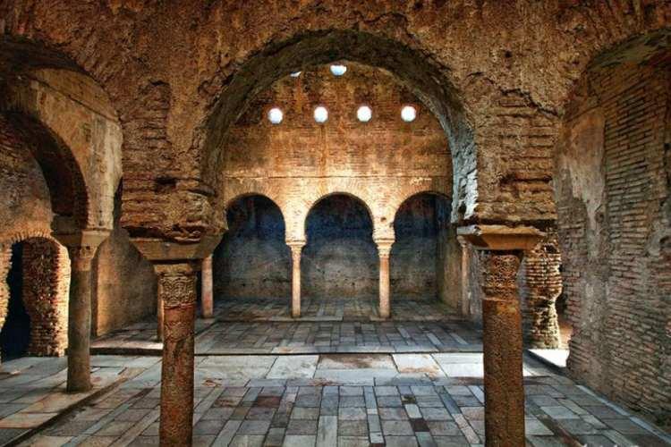 حمام باستانی گرانادا - شهرهای اسپانیا