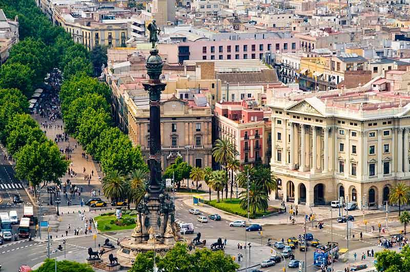 خیابان لا رامبلا - شهرهای اسپانیا