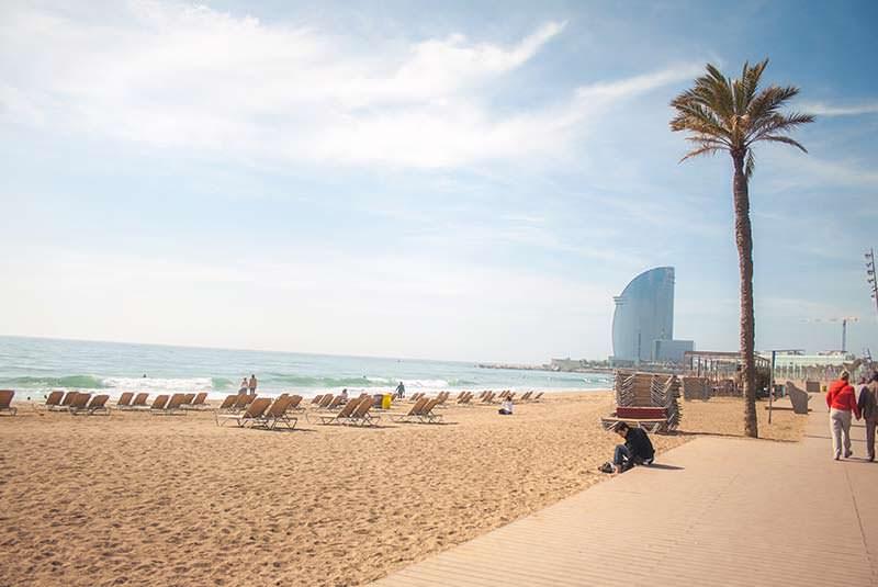 ساحل بارسلون - شهرهای اسپانیا