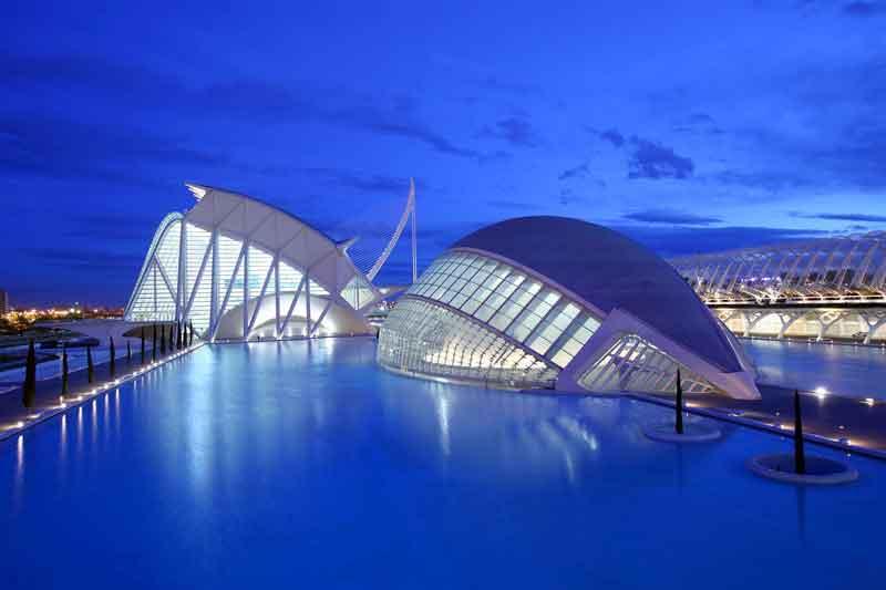 شهر هنرها و علوم والنسیا - شهرهای اسپانیا