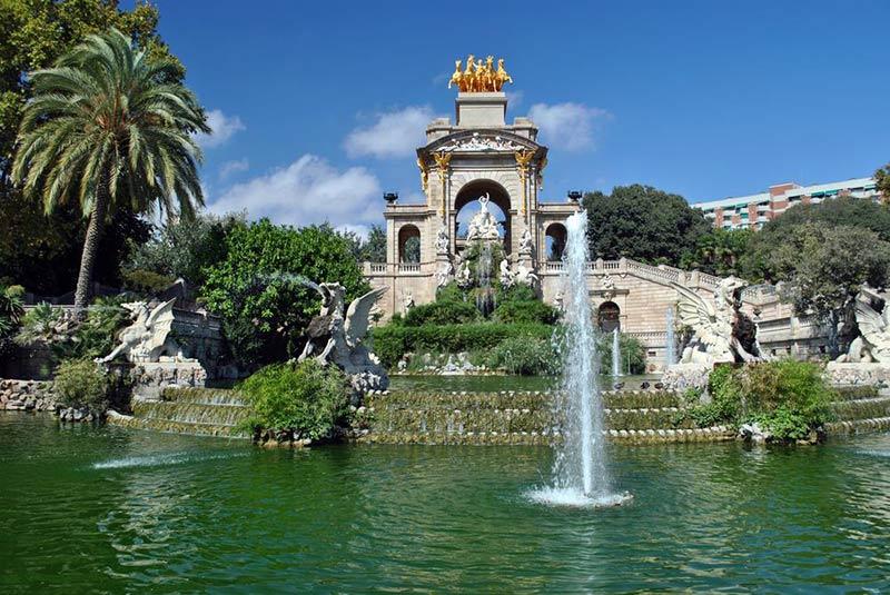 فواره گاودی - شهرهای اسپانیا