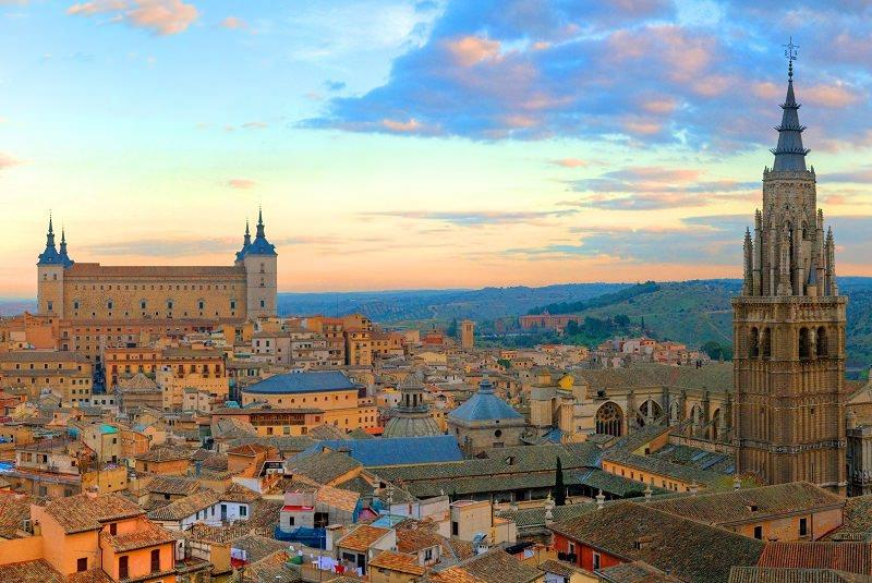 قلعه ی سن سرواندو - شهرهای اسپانیا