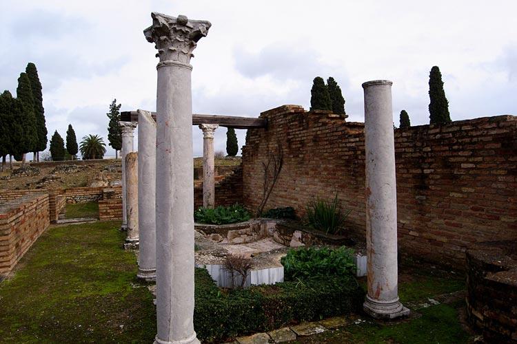 مجموعه باستان شناسی ایتالیکا - شهرهای اسپانیا